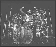 Floyd on drums